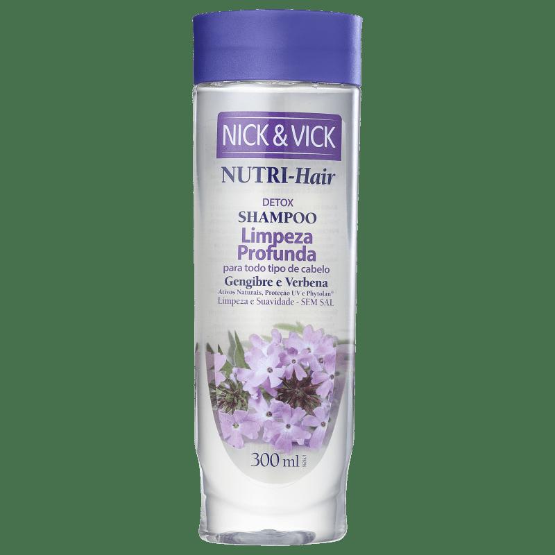 Nick & Vick NUTRI-Hair Limpeza Profunda - Shampoo Antirresíduo 300ml