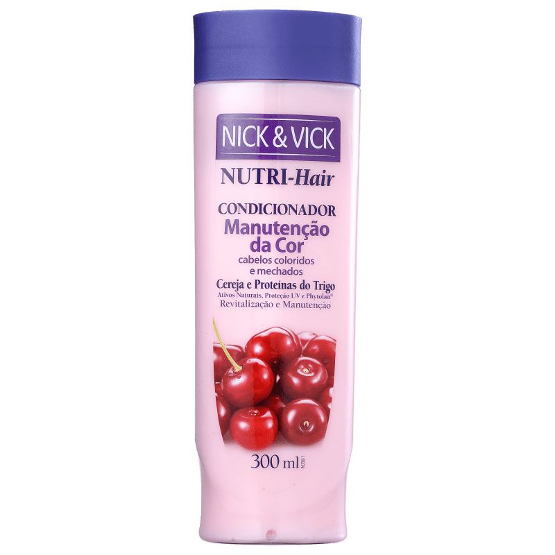 Nick & Vick NUTRI-Hair Manutenção da Cor - Condicionador 300ml