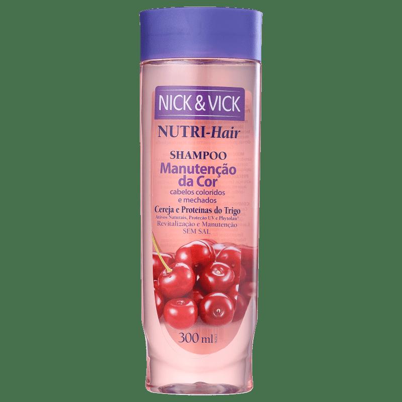 Nick & Vick NUTRI-Hair Manutenção da Cor - Shampoo sem Sal 300ml