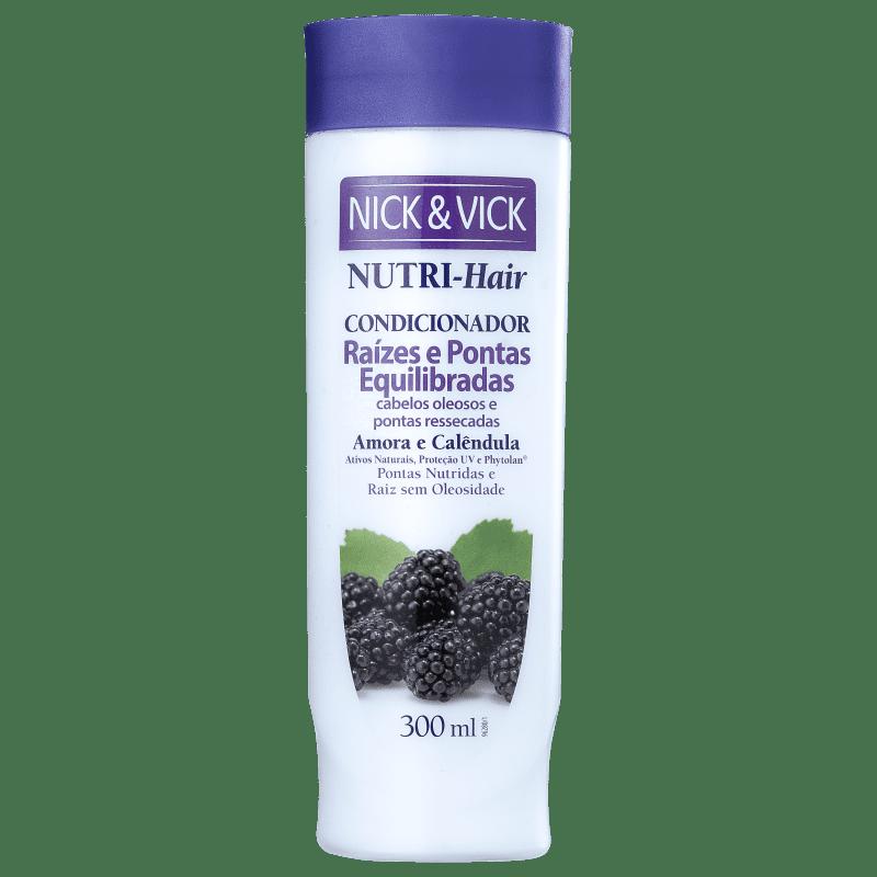 Nick & Vick NUTRI-Hair Raiz e Pontas Equilibradas - Condicionador 300ml