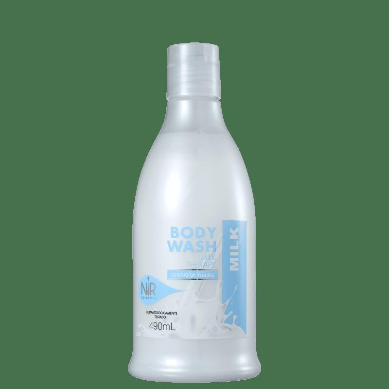 Nir Cosmetics Body Wash Milk Therapy - Sabonete Líquido 490ml