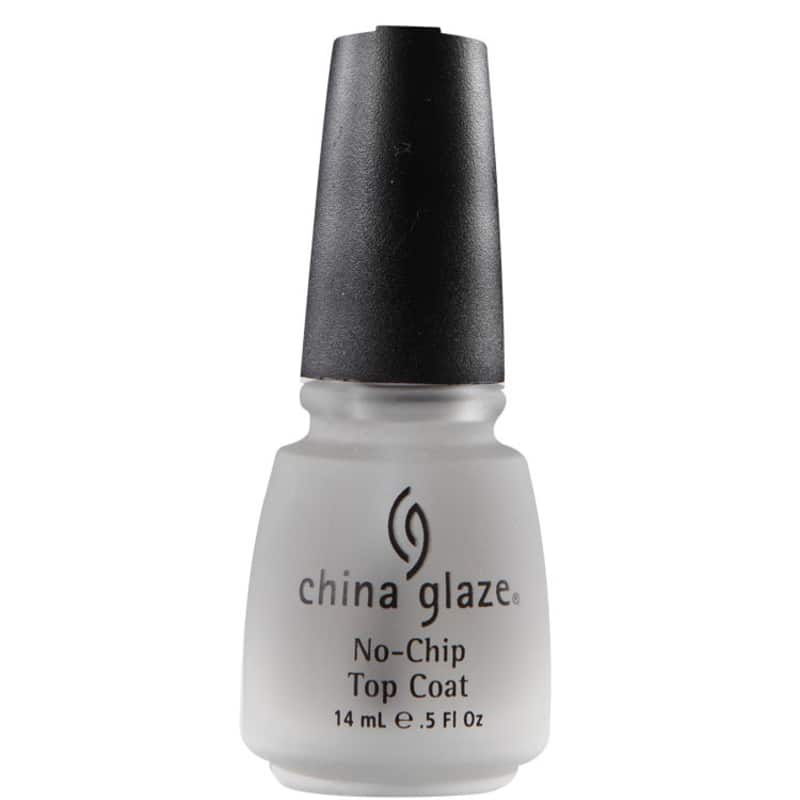 China Glaze No-Chip Top Coat - Cobertura Anti-Lascas 14ml