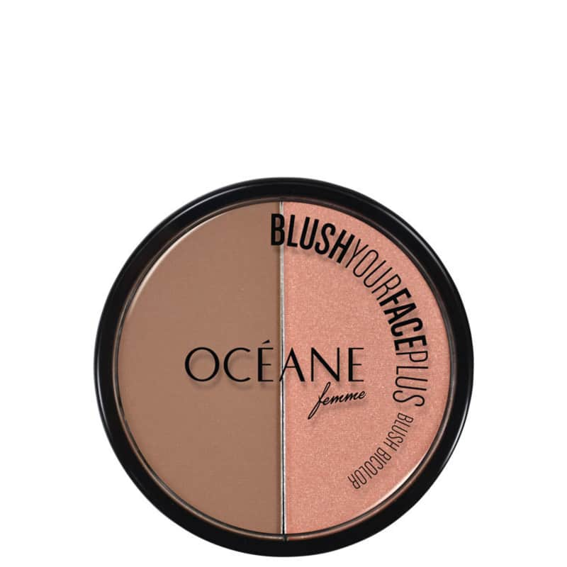 Océane Blush Your Face Brown Orange - Blush em Pó 9,3g