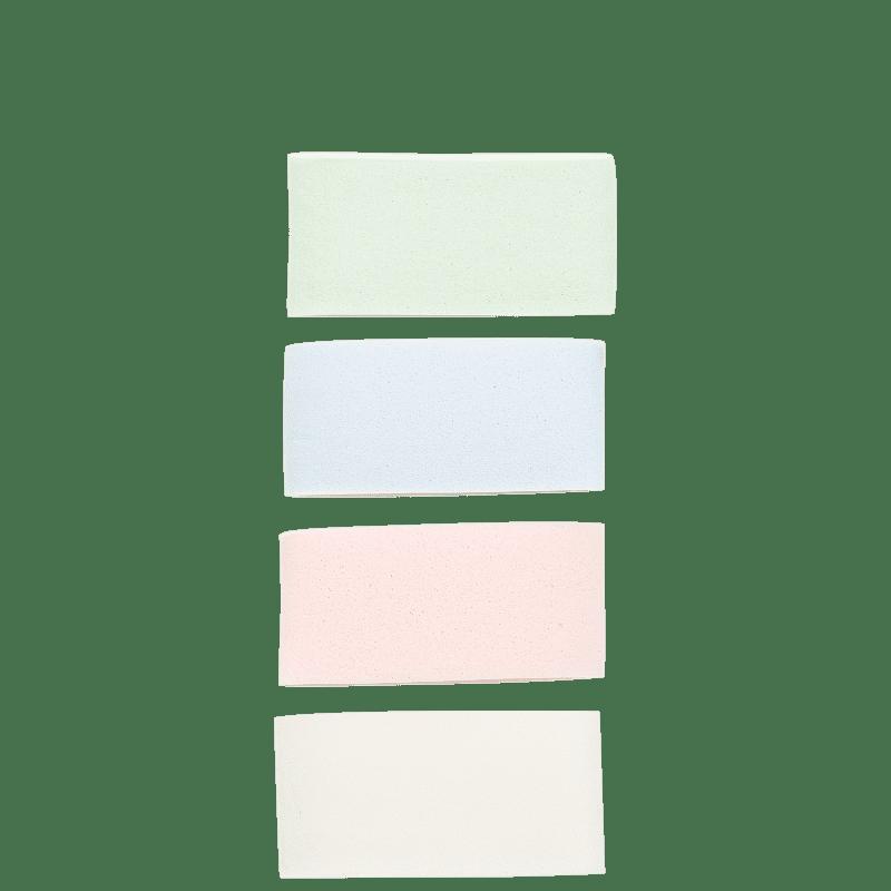 Océane 4 Strip Sponge - Esponja para Maquiagem (4 unidades)