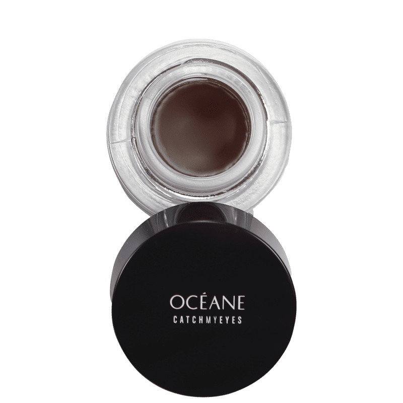 Océane Catch My Eyes Brown - Delineador em Gel 2,6g