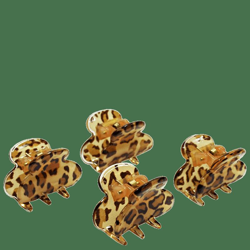 Océane Complete My Look 187 Animal Print - Presilha de Cabelo (4 Unidades)
