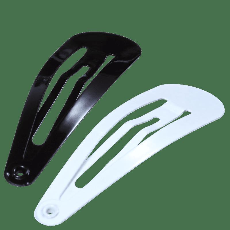 Complete My Look 30 Black White - Tic-Tac de Cabelo (4 Unidades)