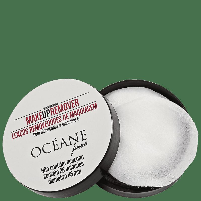 Océane Make Up Remover - Lenço Demaquilante (25 unidades)