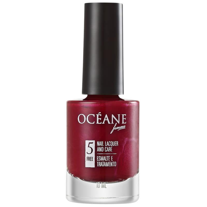 Océane Nail Lacquer And Care Deep Blur - Esmalte Perolado 10ml