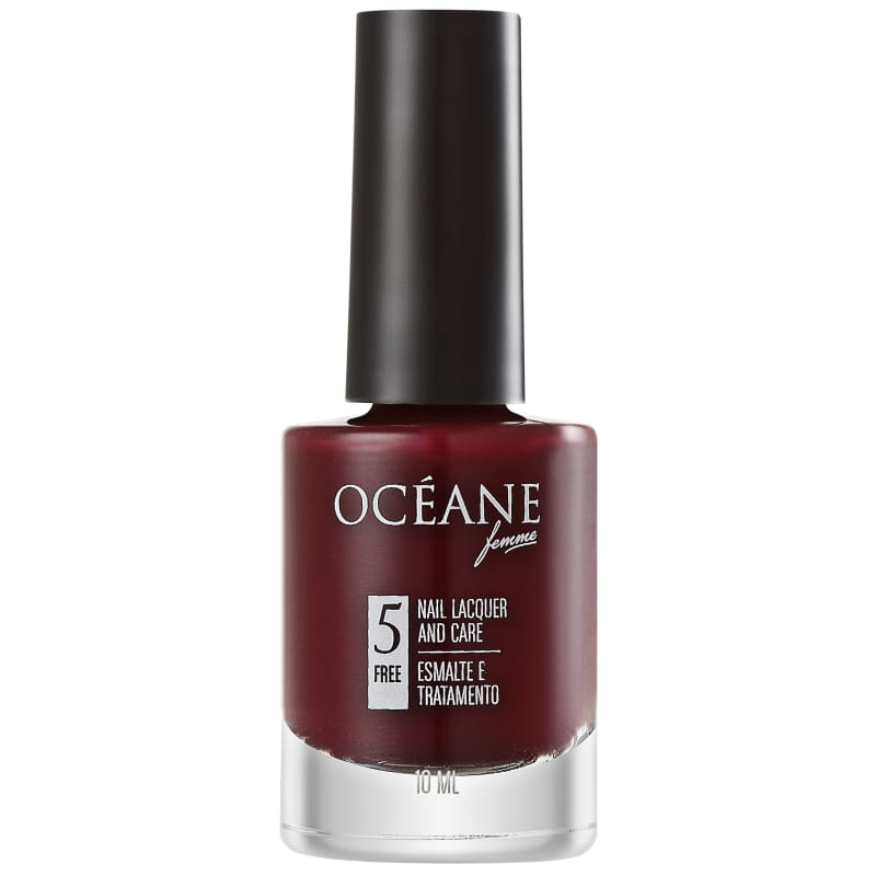 Océane Nail Lacquer And Care Merlot - Esmalte Cremoso 10ml