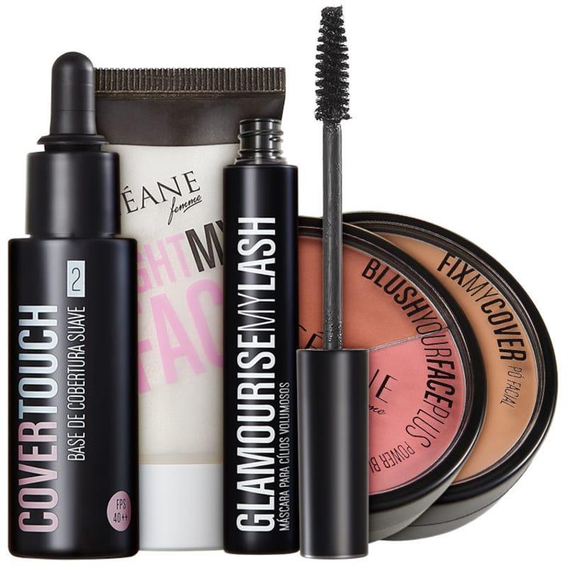 Kit Océane Perfect Face Make Up (5 produtos)