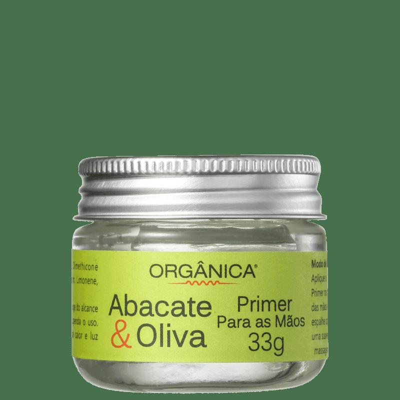 Orgânica Abacate & Oliva - Primer Para as Mãos 33g