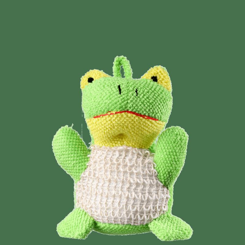 Orgânica Bath Toy Sapinho Verde - Esponja de Banho