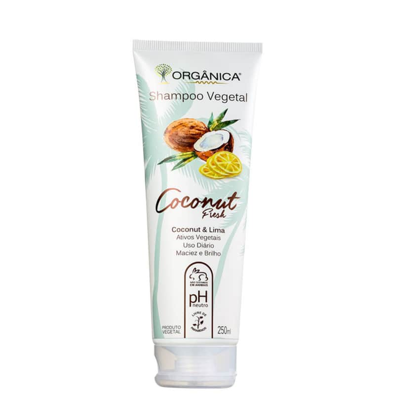 Orgânica Coconut Fresh Coconut & Lima - Shampoo 250ml
