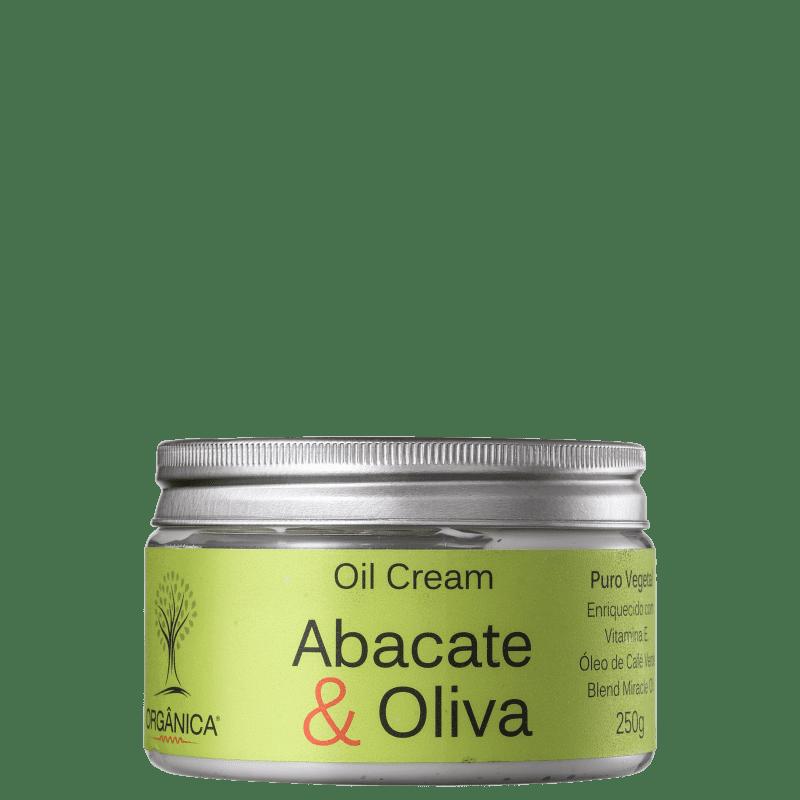 Orgânica Oil Cream Abacate & Oliva - Hidratante 270ml