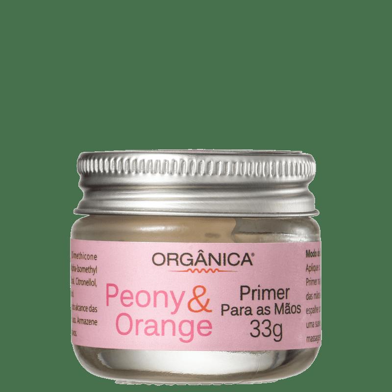 Orgânica Peônia & Laranja - Primer Para as Mãos 33g