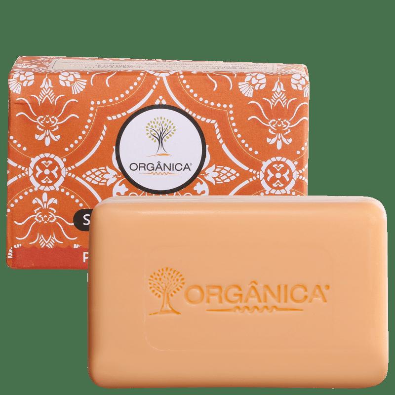 Orgânica Puro Vegetal Pêsseo e Flor de Lótus - Sabonete em Barra 90g