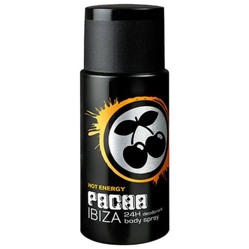 Pacha Ibiza Hot Energy Body Spray Masculino - Desodorante 150ml