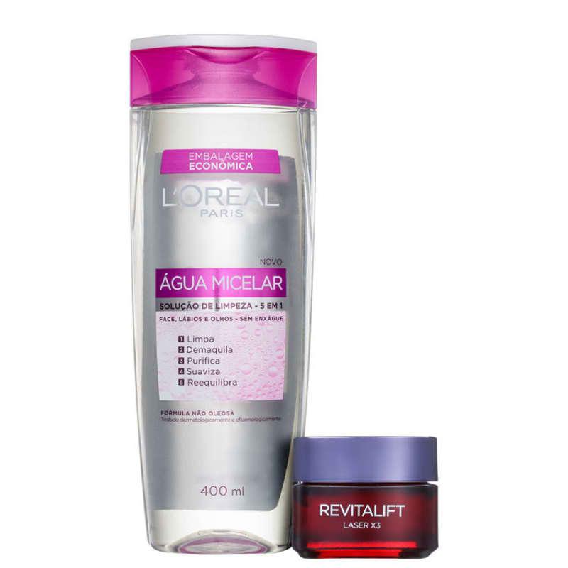 Kit L'Oréal Paris Laser X3 Anti-idade 3 (2 Produtos)