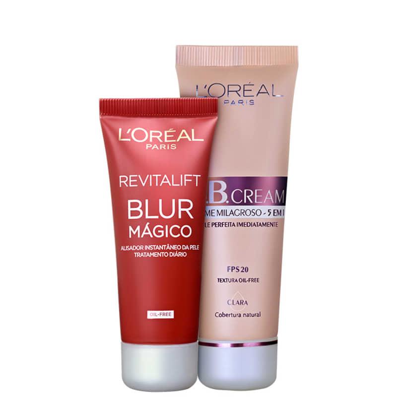 Kit L'Oréal Paris Perfect Skin Claro (2 produtos)