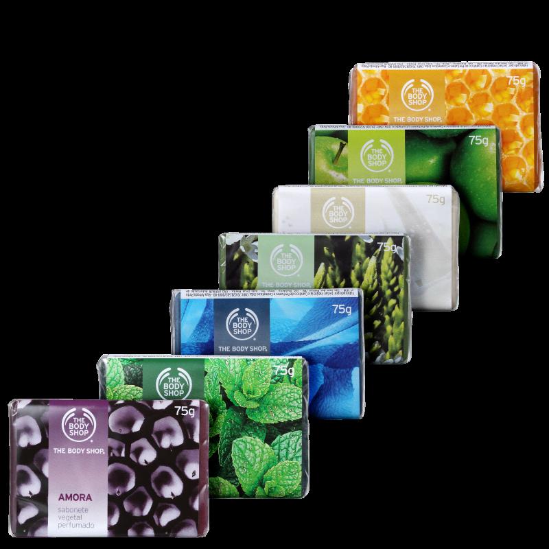 Kit Completo Sabonetes The Body Shop (7 Produtos)