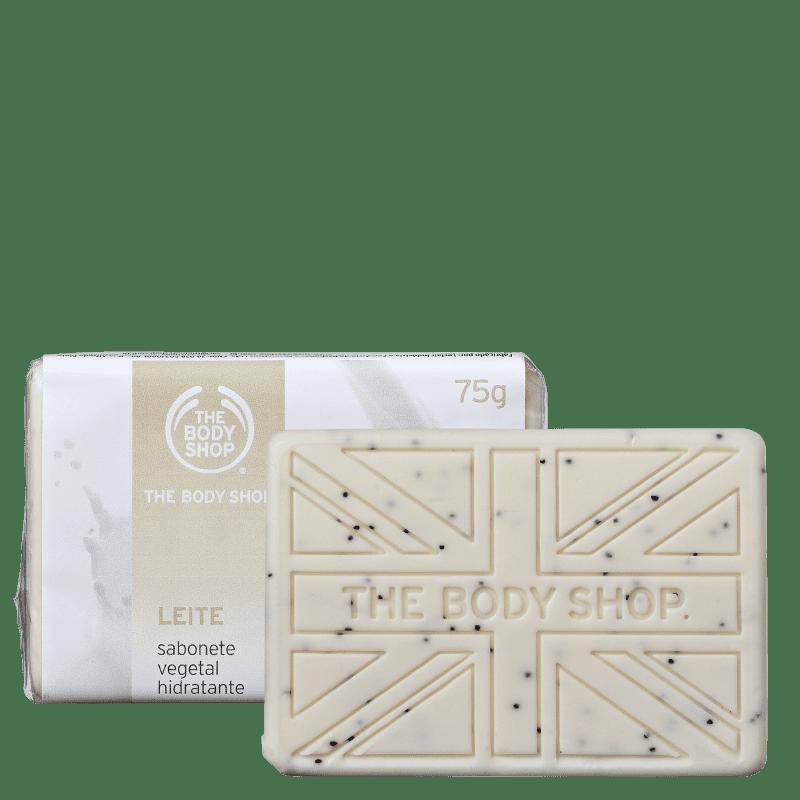 Kit The Body Shop Leite - Sabonetes em Barra 2x75g