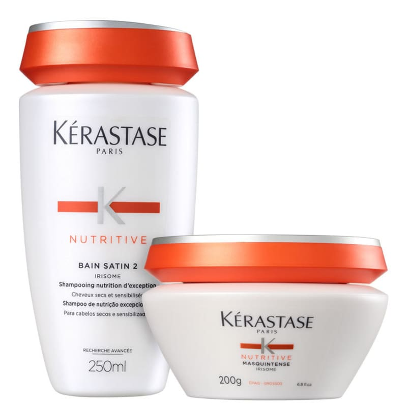 Kit Kérastase Nutritive Satin Masquintense Cabelos Grossos (2 Produtos)