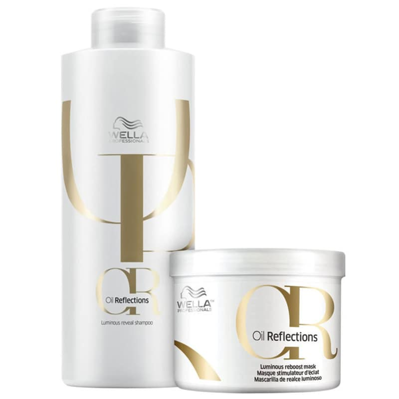 Kit Wella Professionals Oil Reflections Duo Salão (2 Produtos)