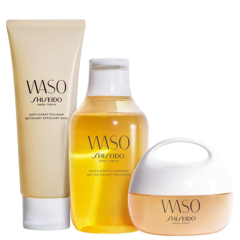 Kit Shiseido Waso Hydrating (3 Produtos)