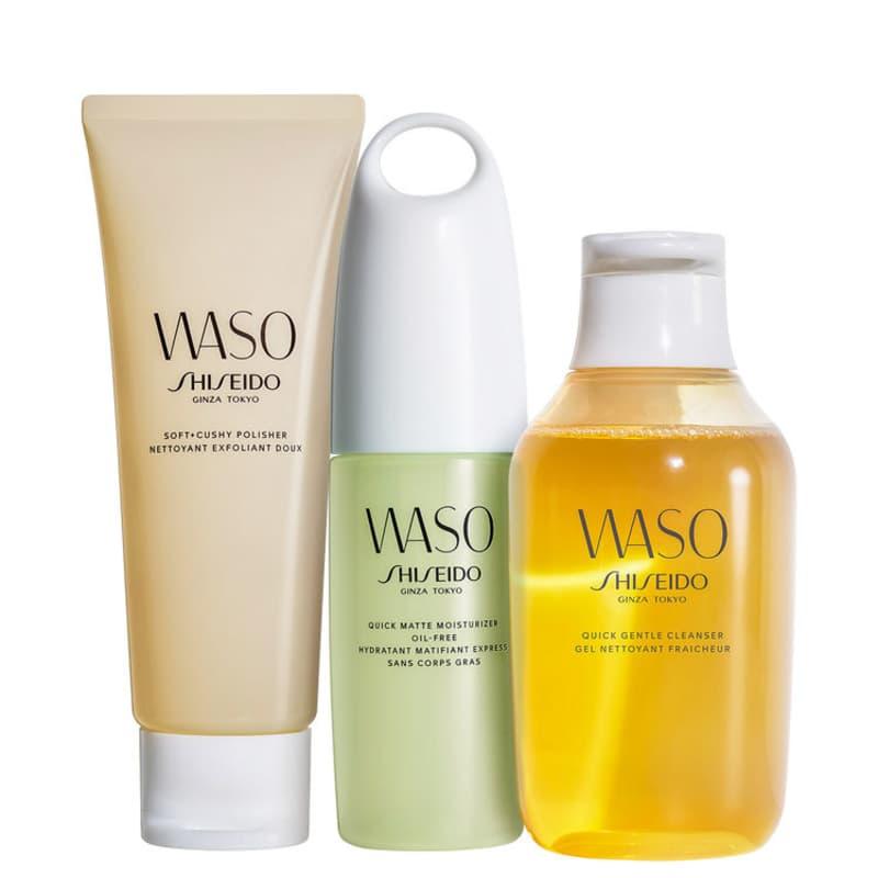 Kit Shiseido Waso Matte (3 Produtos)