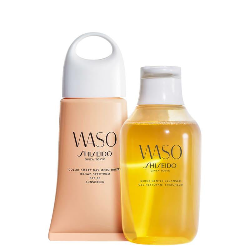 Kit Shiseido Waso Cleanser Color-Smart (2 Produtos)