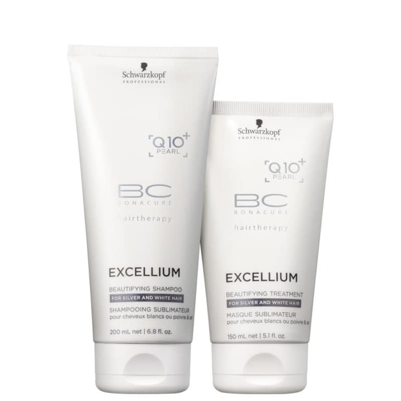 Kit Schwarzkopf BC Excellium Beautifying Duo (2 Produtos)