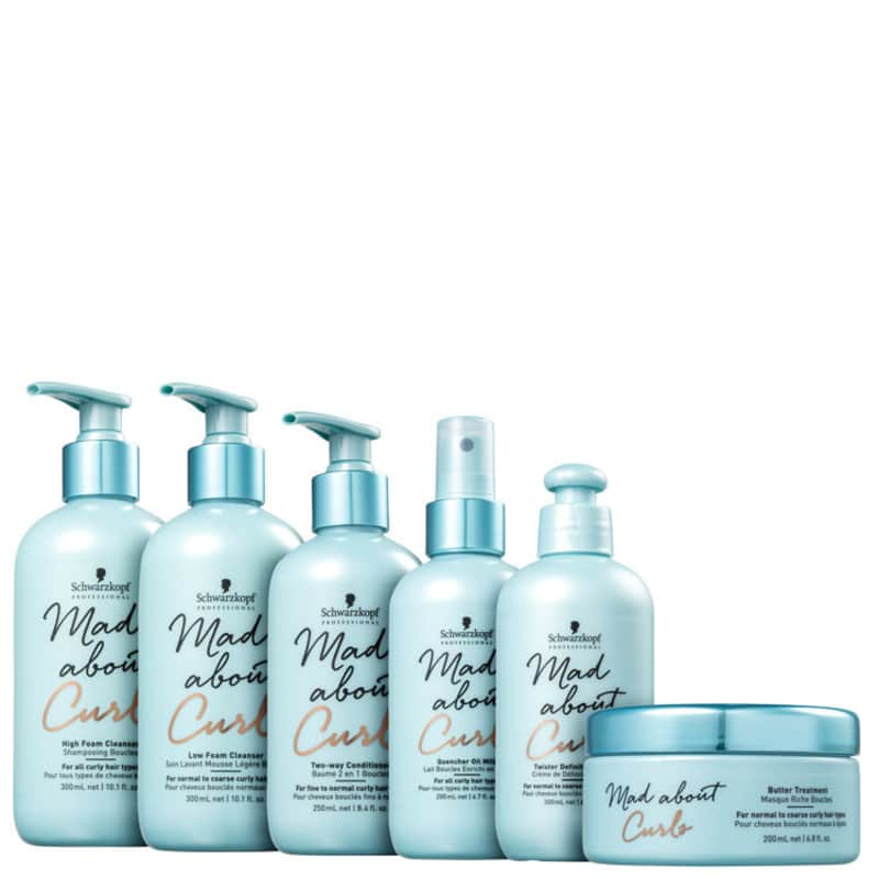 Kit Schwarzkopf Professional Mad About Curls Completo (6 Produtos)