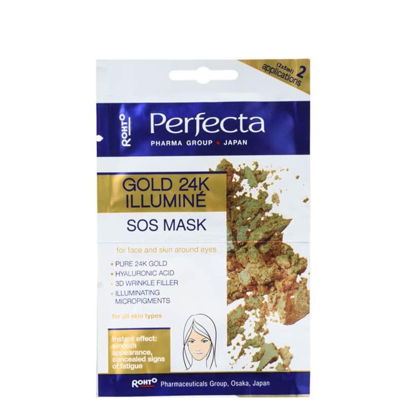 Perfecta Gold 24K Illuminé SOS - Máscara Iluminadora 2x 5ml