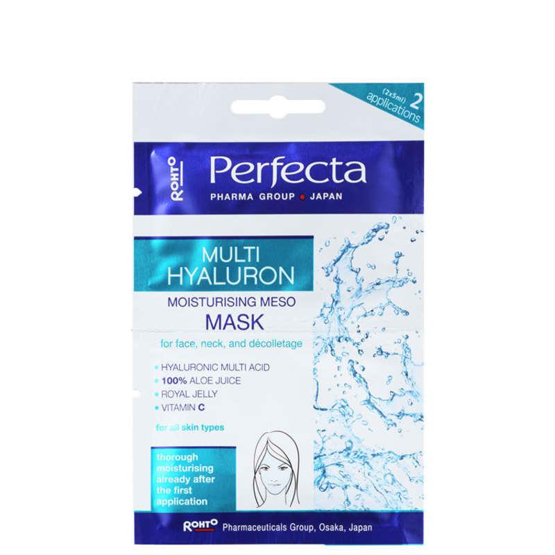 Perfecta Multi Hyaluronic Moisturizing Meso - Máscara Hidratante 2x 5ml