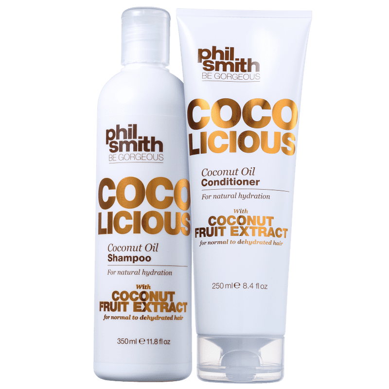 Kit Phil Smith Coco Licious Coconut Oil Duo (2 Produtos)