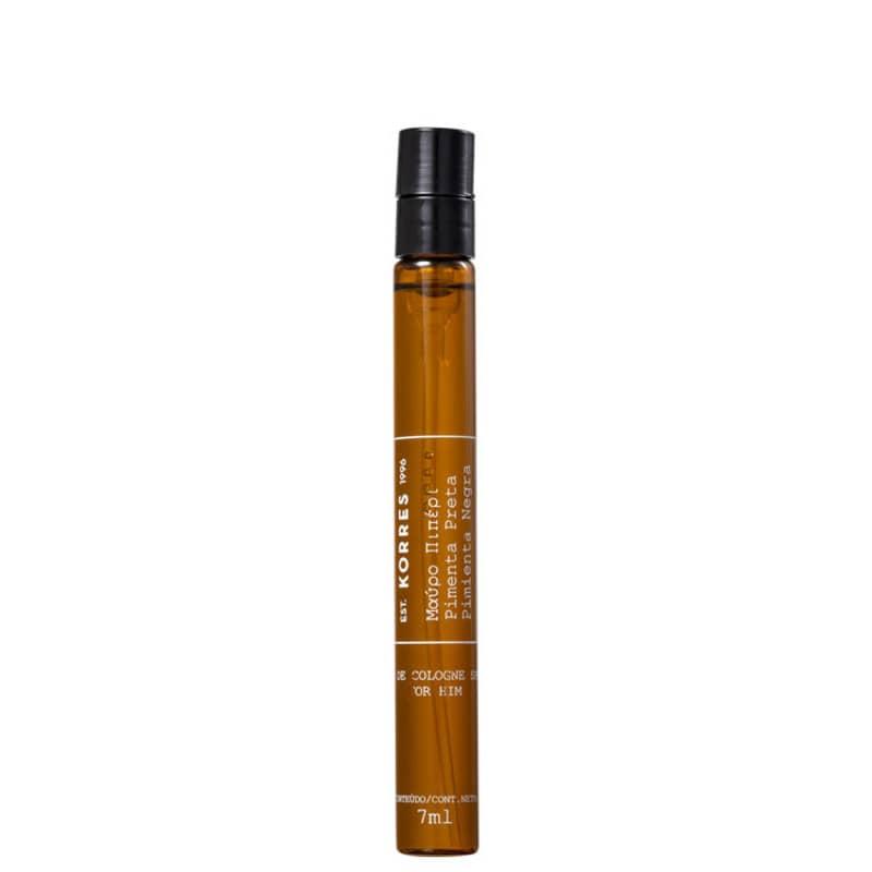 Pimenta Preta Korres Eau de Cologne - Perfume Masculino 7ml