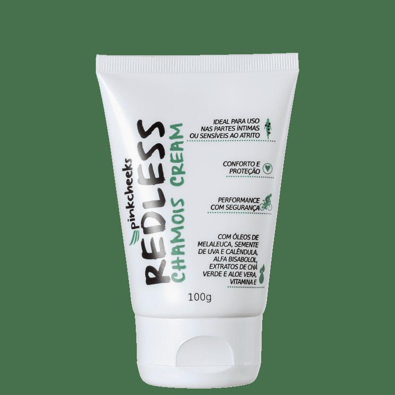 Pink Cheeks Redless Chamois Cream - Creme Antiassaduras 100g
