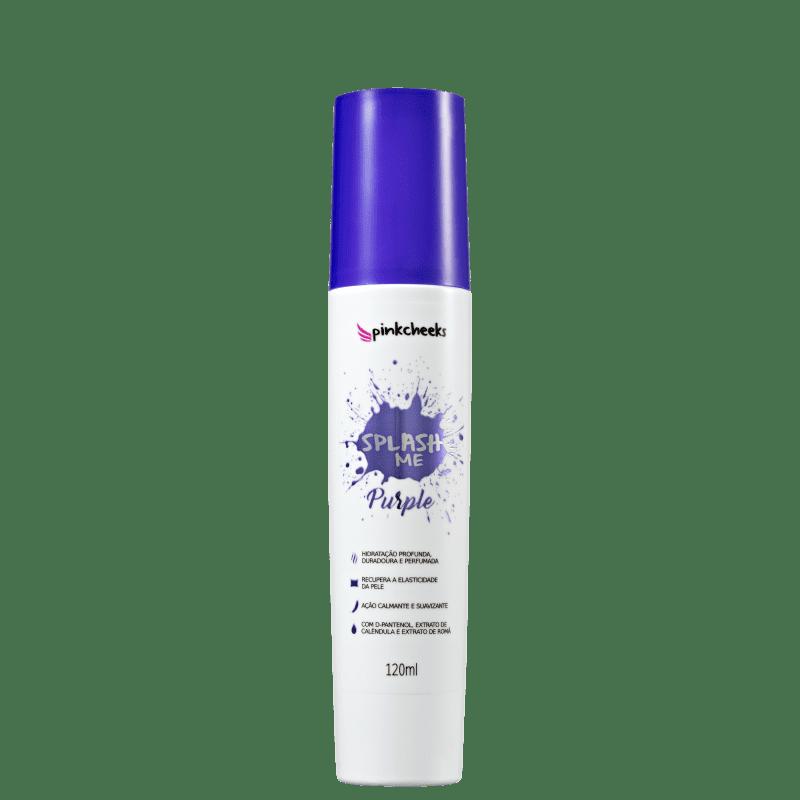 Pink Cheeks Splash Me Purple - Spray Hidratante Corporal 120ml