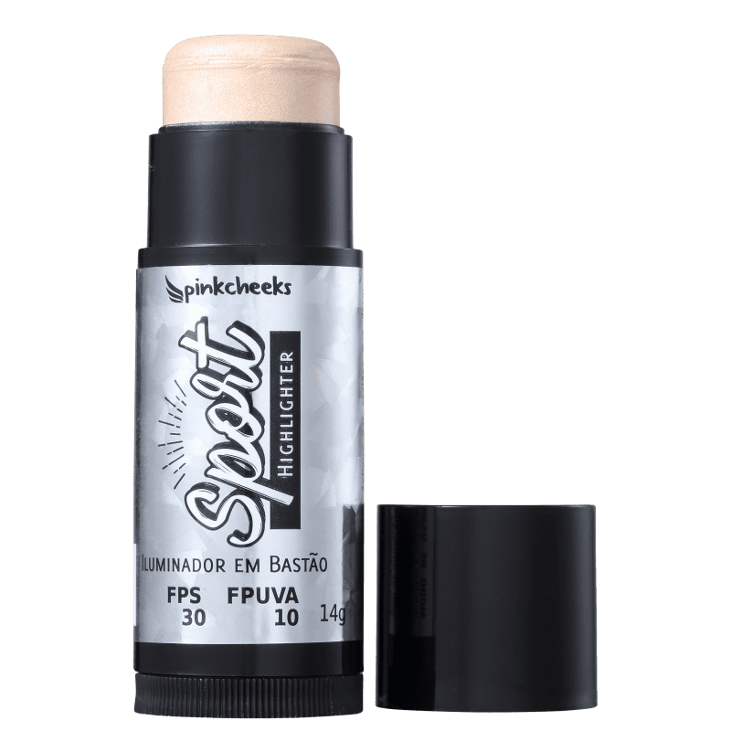 Pink Cheeks Sport Make Up Ivory - Iluminador Cintilante 14g