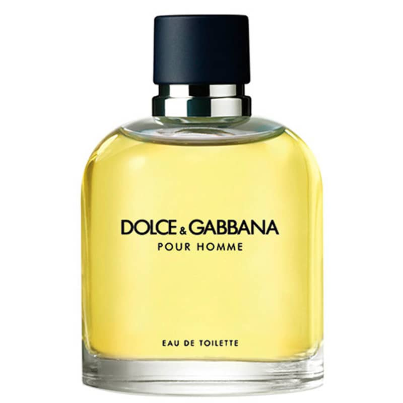 Dolce &amp, Gabbana Pour Homme Eau de Toilette - Perfume Masculino 125ml