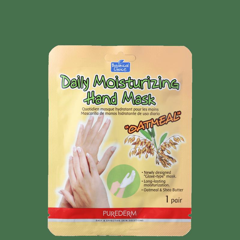 Purederm Oatmeal - Máscara Hidratante para as Mãos (1 par)