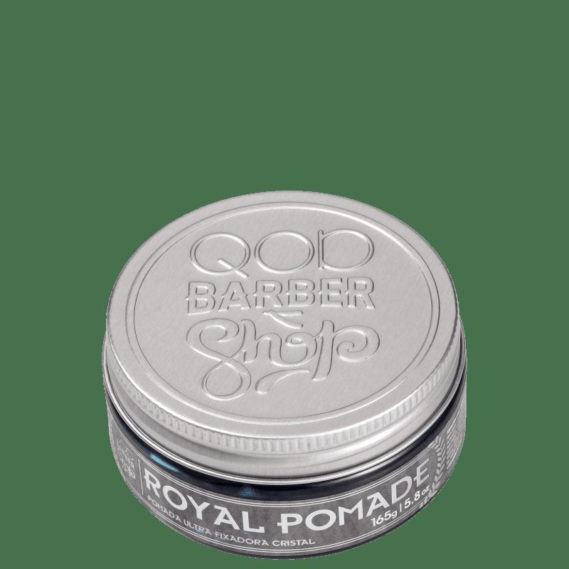 QOD Barber Shop Royal - Pomada Modeladora 165g