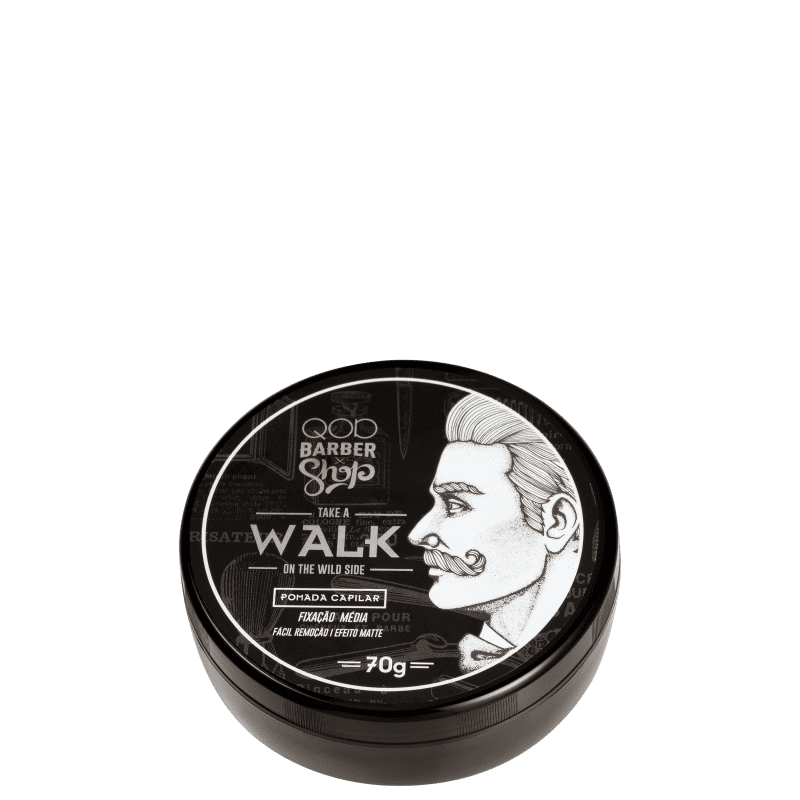 QOD Barber Shop Take a Walk On The Wild Side - Pomada Modeladora 70g