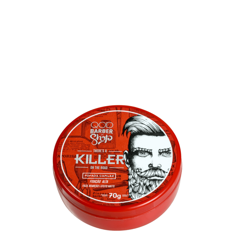 QOD Barber Shop There's A Killer On The Road - Pomada Modeladora 70g
