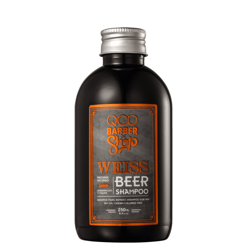 QOD Barber Shop Weiss Beer - Shampoo 250ml