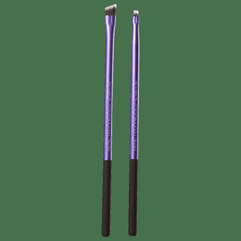 Real Techniques Kit de Pincéis Eye Detail + Define (3 produtos)