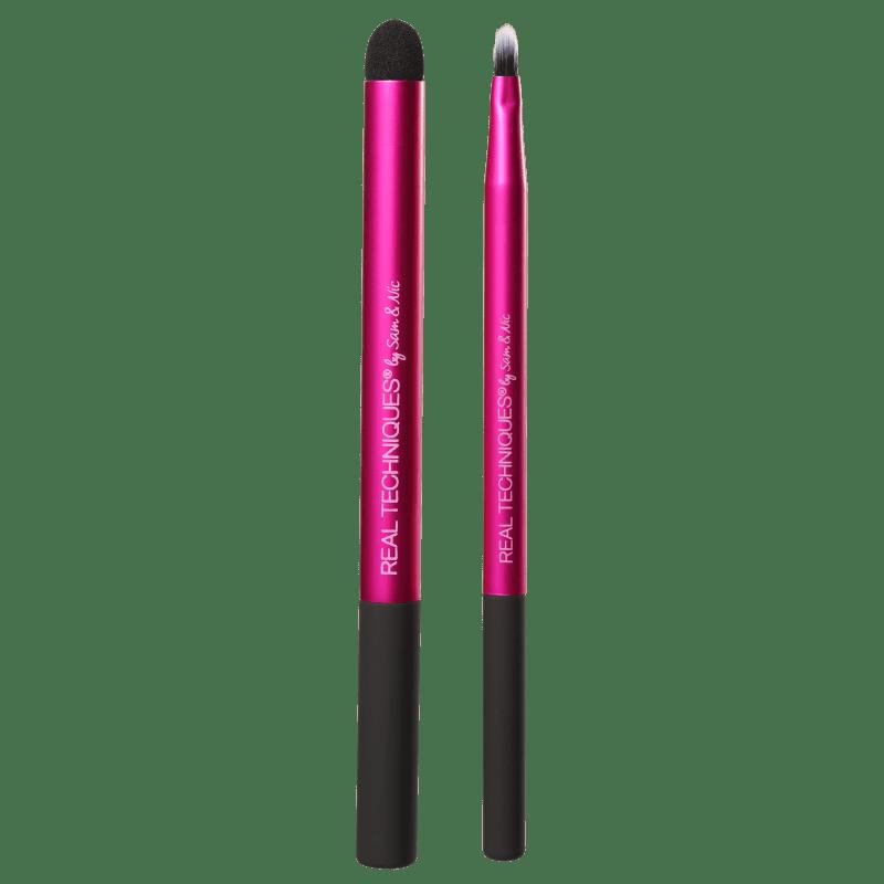 Real Techniques Kit de Pincéis Lip Color + Blur (2 produtos)