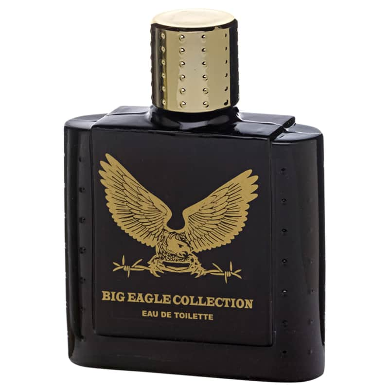 Big Eagle Collection Black Real Time Eau de Toilette - Perfume Masculino 100ml