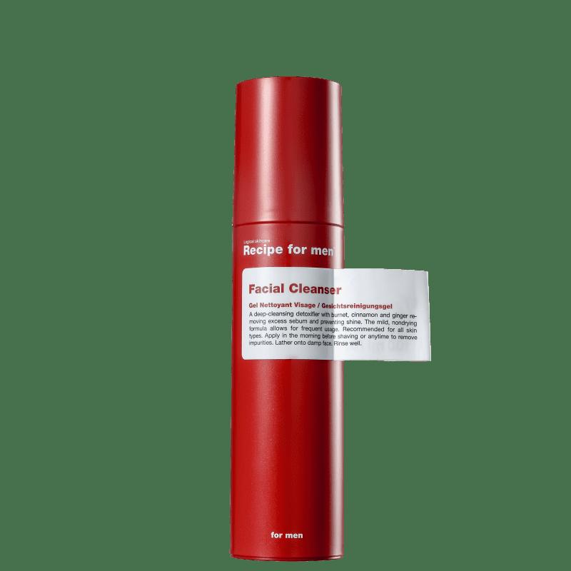 Recipe for Men - Gel de Limpeza Facial 100ml